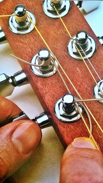 snaren-elektrische-gitaar