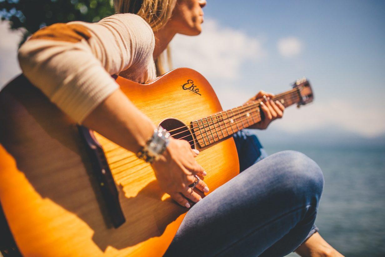 links-rechtshandig-gitaar